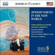 Jewish Voices in the New World - CD Audio