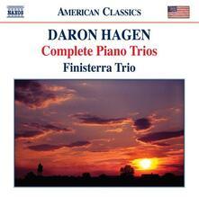 Trii con pianoforte n.1, n.2, n.3, n.4 - CD Audio di Daron Aric Hagen,Finisterra Trio