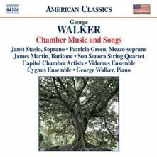 Musica da camera - Songs - CD Audio di George Walker