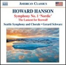 Sinfonie vol.1 - CD Audio di Howard Hanson,Gerard Schwarz,Seattle Symphony Orchestra