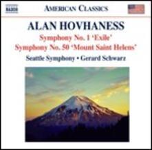Sinfonie n.1, n.2 - CD Audio di Alan Hovhaness,Gerard Schwarz,Seattle Symphony Orchestra