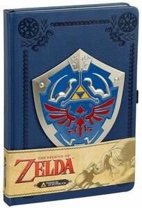 Quaderno Zelda. Metal Shield Premium Journal A5 Pu Journal