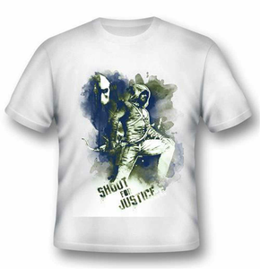 Idee regalo T-Shirt unisex Arrow. Shoot For Justice 2BNerd