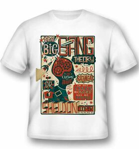 Idee regalo T-Shirt unisex The Big Bang Theory. Sheldon Cooper Quotes 2BNerd