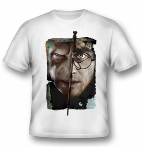 Idee regalo T-Shirt unisex Harry Potter. Harry vs Voldemort 2BNerd