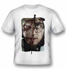 T-Shirt unisex Harry Potter. Harry vs Voldemort