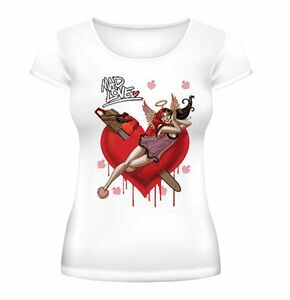 Idee regalo t-Shirt donna Batman. Harley Quinn Mad Love 2BNerd