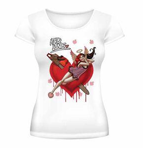 Idee regalo t-Shirt donna Batman. Harley Quinn Mad Love 2BNerd