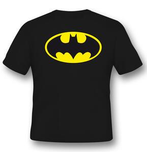 T-Shirt Unisex Batman. Logo Classic