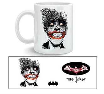 Idee regalo Tazza Batman. Joker by Jock 2BNerd