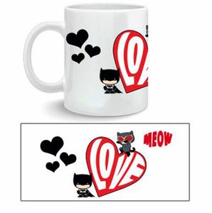 Idee regalo Tazza Batman. Catwoman Meow 2BNerd