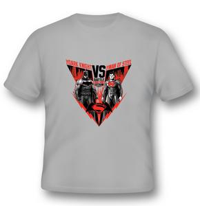 Idee regalo T-Shirt unisex Batman V Superman. Battle For Gotham 2BNerd