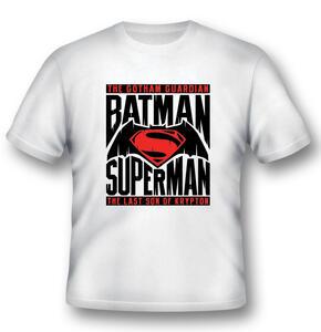 T-Shirt unisex Batman V Superman. Logo