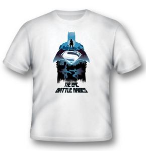 Idee regalo T-Shirt unisex Batman V Superman. Epic Battle Rages 2BNerd