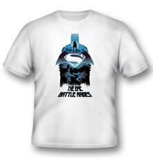 T-Shirt unisex Batman V Superman. Epic Battle Rages