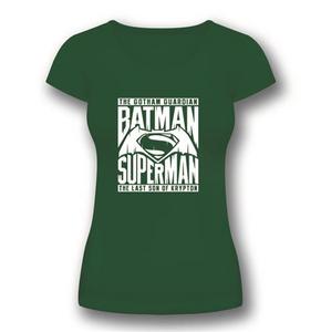 Idee regalo T-Shirt donna Batman V Superman. Symbol 2BNerd