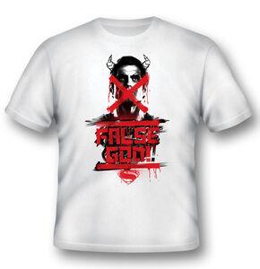 Idee regalo T-Shirt Unisex Batman V Superman. False God 2BNerd