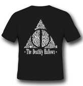 Idee regalo T-Shirt Unisex Harry Potter. Deathly Hallows 2BNerd