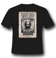 T-Shirt Unisex Harry Potter. Sirius Black