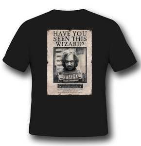 Idee regalo T-Shirt Unisex Harry Potter. Sirius Black 2BNerd