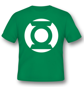 Idee regalo T-Shirt Unisex Green Lantern. Logo Classic 2BNerd