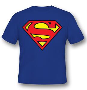 T-Shirt Unisex Superman. Logo Classic