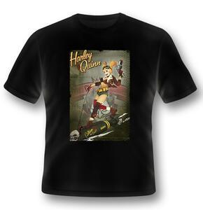 T-Shirt Unisex Batman. Harley Quinn Bomb