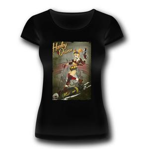 Idee regalo T-Shirt Donna Batman. Harley Quinn Bomb 2BNerd