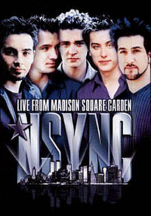 N Sync. Live at Madison Square Garden (DVD) - DVD
