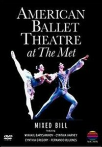 Film American Ballet Theatre at the Met. Le Silfidi, Sylvia, Pad De Deux
