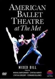 American Ballet Theatre at the Met. Le Silfidi, Sylvia, Pad De Deux (DVD) - DVD