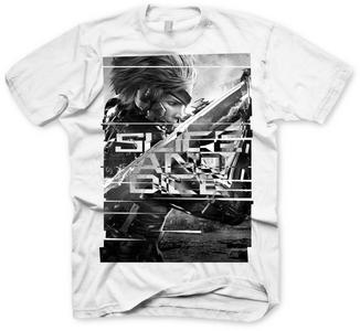 Idee regalo T-Shirt uomo Metal Gear Rising. Revengeance Slice & Dice TimeCity