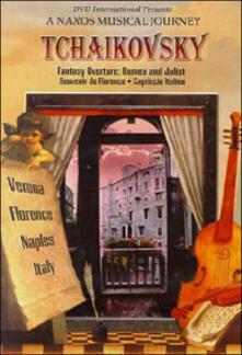 Pyotr Ilyich Tchaikovsky. A Naxos Musical Journey. Italy (DVD) - DVD di Pyotr Ilyich Tchaikovsky,Stephen Gunzenhauser