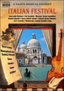 Italian Festival. A Naxos Musical Journey - DVD