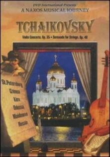 Pyotr Ilyich Tchaikovsky. Violin Concerto In D Major. A Naxos Musical Journey (DVD) - DVD di Pyotr Ilyich Tchaikovsky