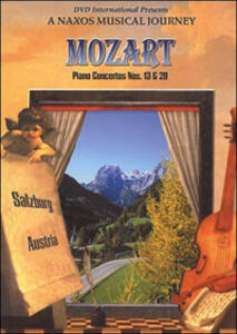 Wolfgang Amadeus Mozart. Piano Concertos op. n. 13 K 415, op. n. 20 K 466 - DVD