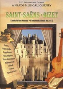 Camille Saint-Säens. Carnival of the Animals - Georges Bizet. L'Arlesienne - DVD