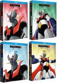 Mazinga Z. Vol. 1+2+3+4 (12 Blu-ray)