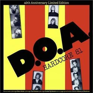 Vinile Hardcore 81 (Coloured Vinyl) DOA