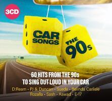 Car Songs. The 90's - CD Audio