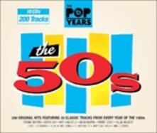 Pop Years 1950-1959 - CD Audio