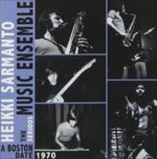 Boston Date - CD Audio di Heikki Sarmanto