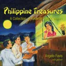 Philippine Treasures vol.1 - CD Audio di Angelo Favis