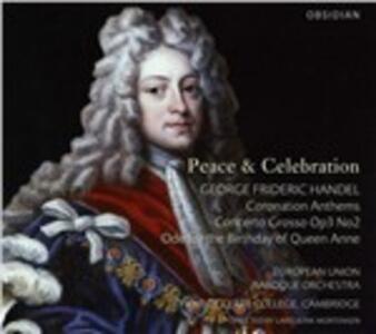 Peace & Celebrations - CD Audio di Georg Friedrich Händel