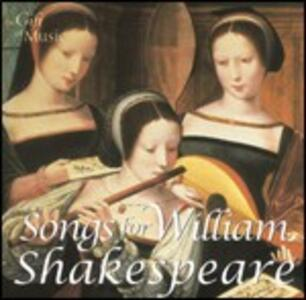 Songs for William Shakespeare - CD Audio