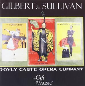 D'Oyle Carte Opera - CD Audio di William S. Gilbert,Arthur Sullivan