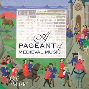 A Pageant of Medieval Mus - CD Audio