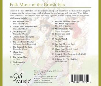 Folk Music of the British - CD Audio - 2