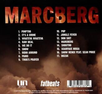 Marcberg - CD Audio di Roc Marciano - 2