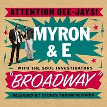 Broadway - CD Audio di Myron & E